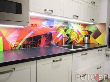 Badkamer foto achterwand op uw eigen maat foto4art for Kunst keuken