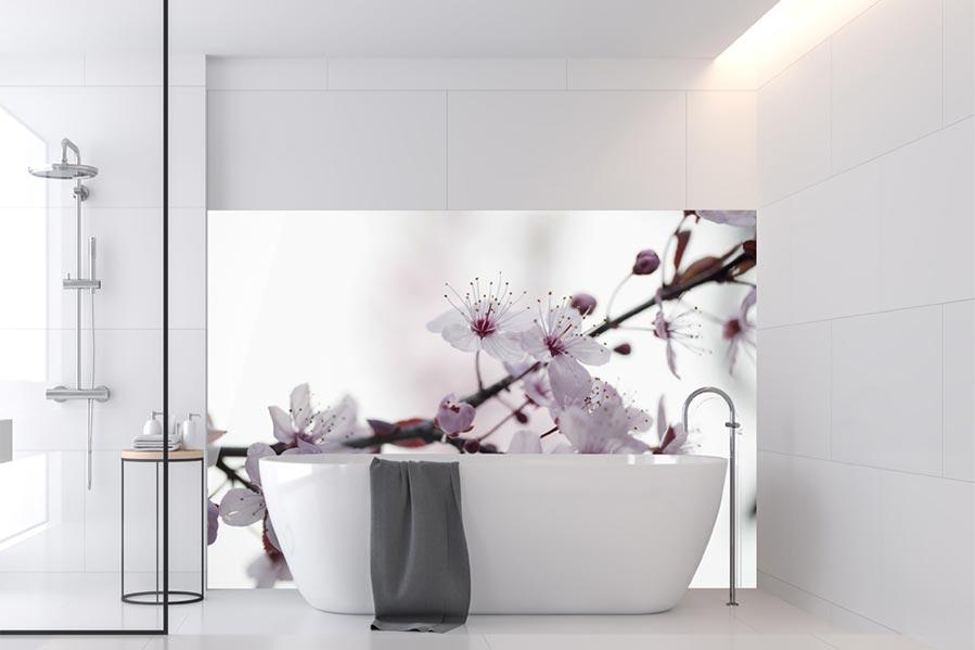 Badezimmer Foto Rückwand