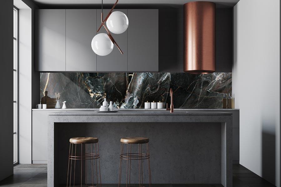 Plexiglas keuken achterwand