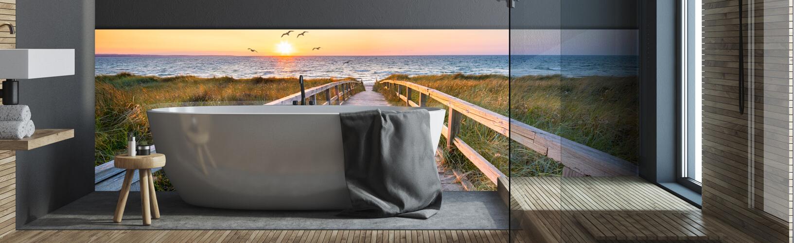 Motiv rückwand badezimmer mit 11% Rabatt und Kostenlose Lieferung