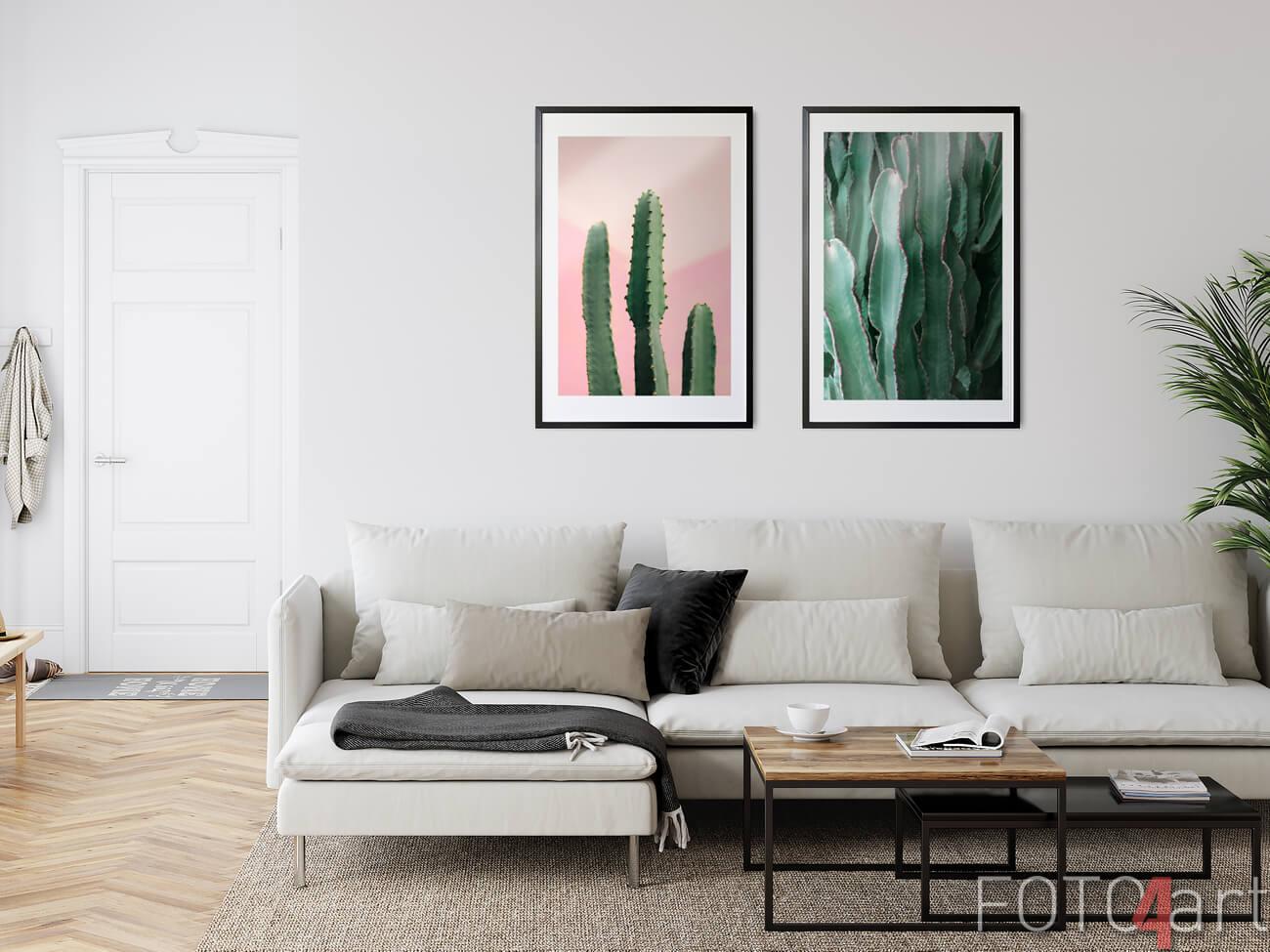 Poster met Cactus