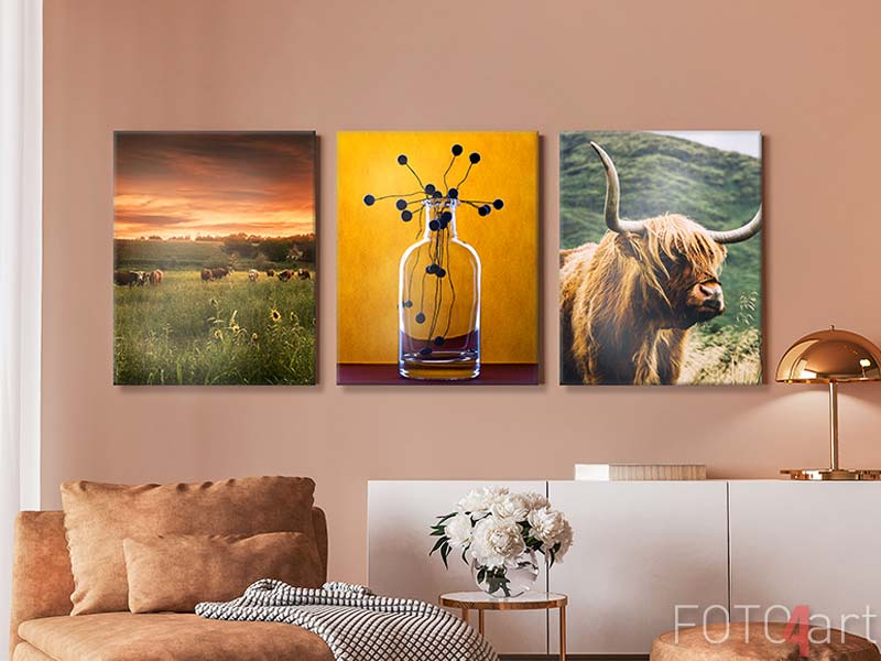 Foto op Canvas - Still life with a