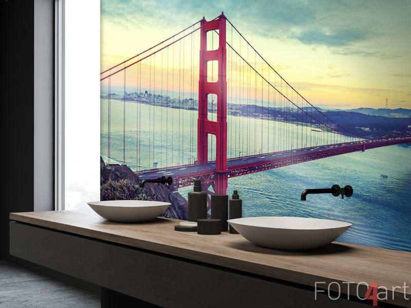 Fotobehang - Golden Gate Brug