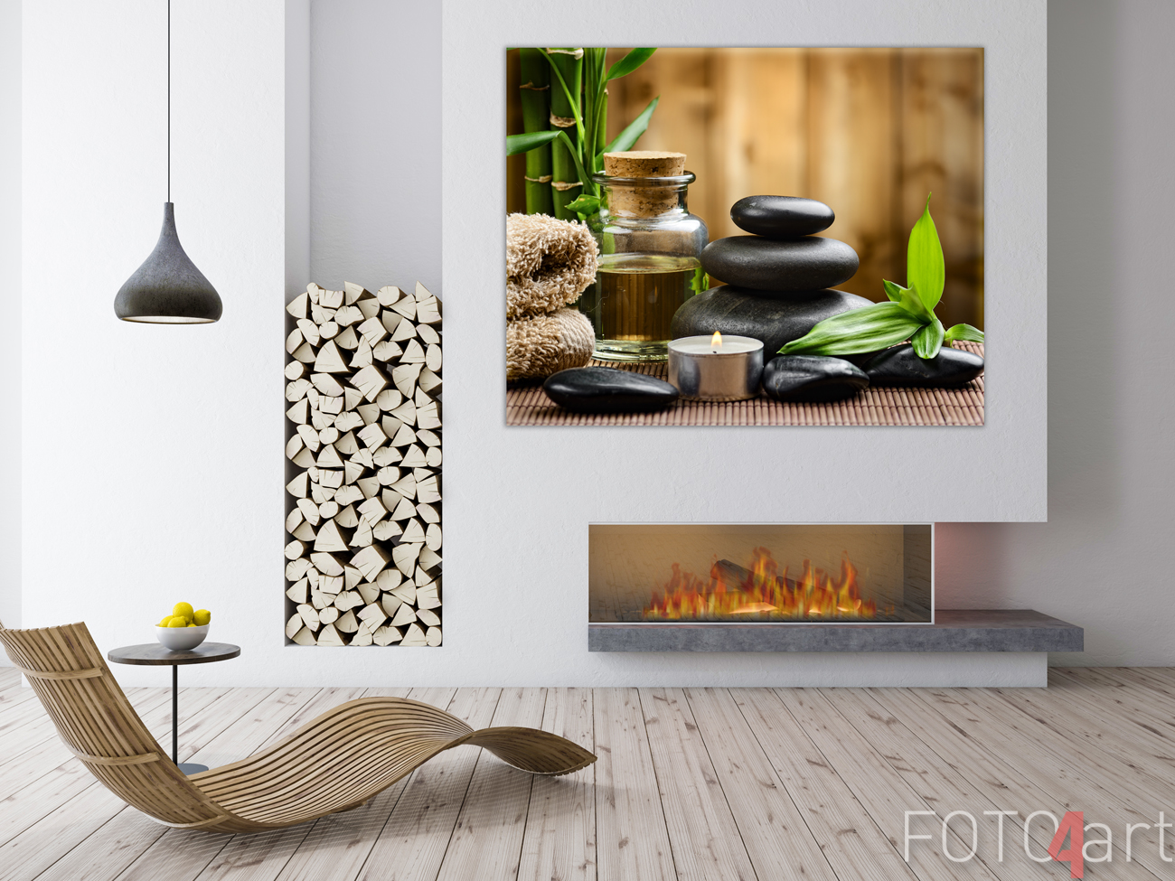 Foto op Canvas Spa