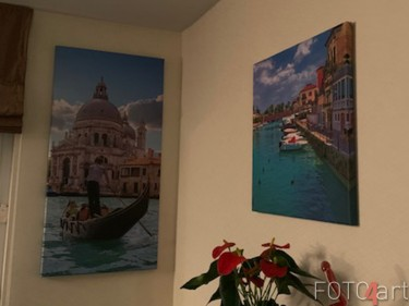 Foto's op Canvas Gondola in Venetië