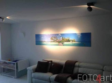 Foto op aluminium tropical strand