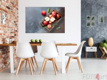 Eetkamer met Foto Appels Plexiglas