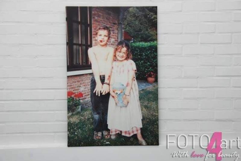 Foto op Canvas eigen foto