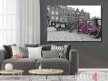 Foto op Plexiglas fiets