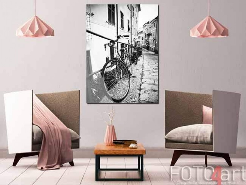 Foto op Plexiglas fiets<
