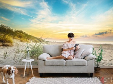 Fotobehang met duinen