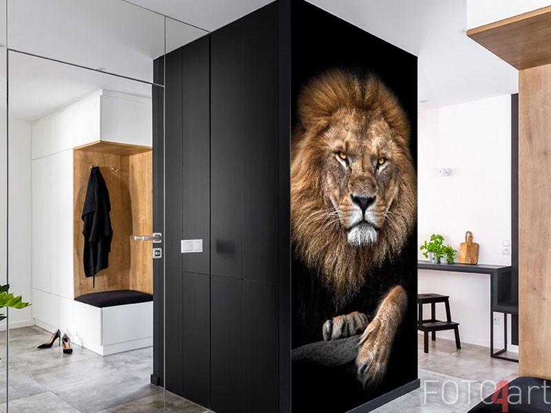 "Fotobehang leeuw - ""Lion King"""