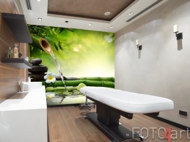 Fotobehang in wellness thema