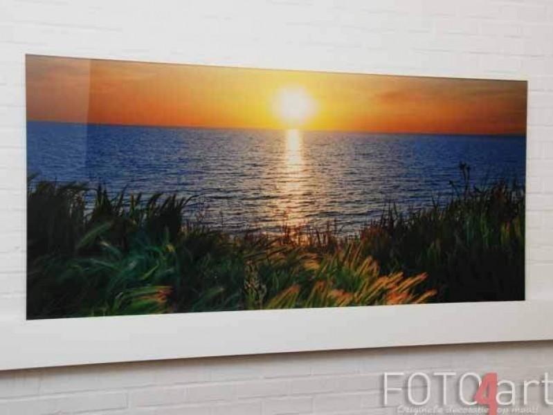 Keuken achterwand met foto van Zonsondergang