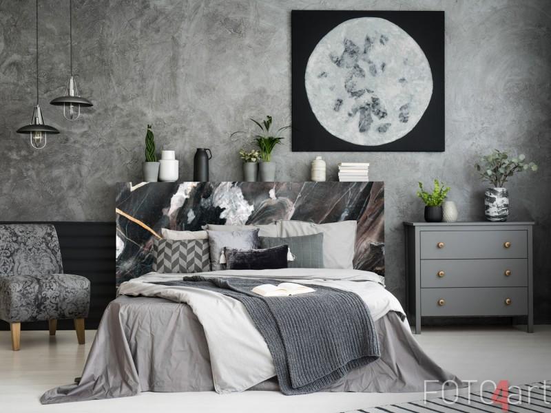 Marmer Meubelsticker Achterwand Bed