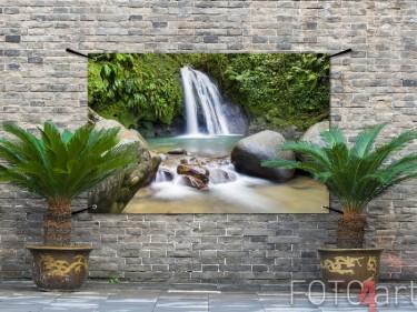 Tuinposter van een waterval